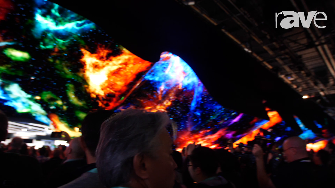 CES 2020: LG Electronics' OLED Wave as Seen at CES