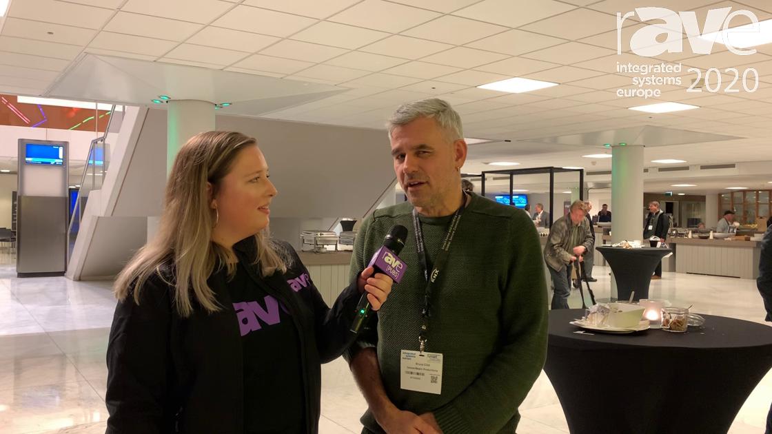 ISE 2020: Steph Beckett Talks to Bruce Gibb of SAE Institute Amsterdam