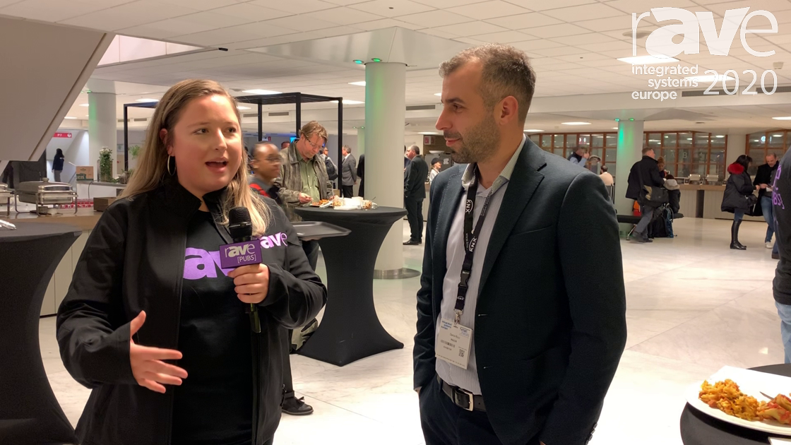 ISE 2020: Steph Beckett Does a Man on the Street Interview With Dario Ricci