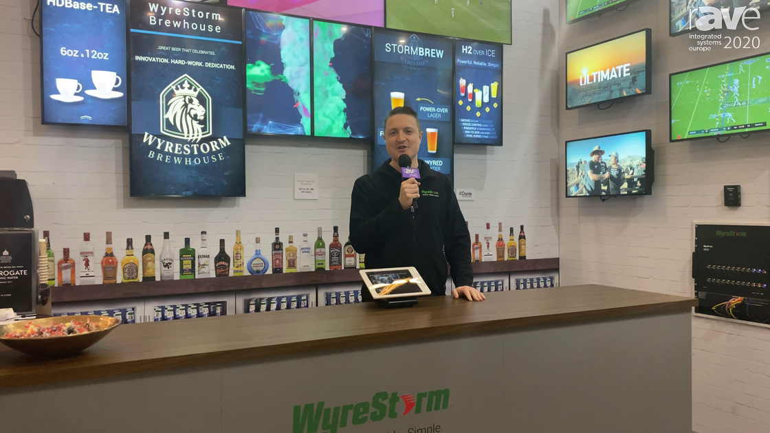 ISE 2020: Wyrestorm Adds Mosaic Video Wall to Network HD 400 Series, Previews WyreStorm Next System