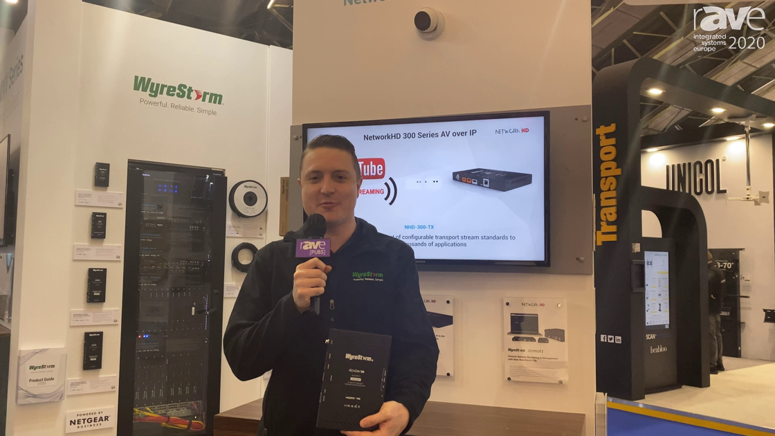 ISE 2020: Wyrestorm Intros NetworkHD 300 Series Encoder for Content Streaming