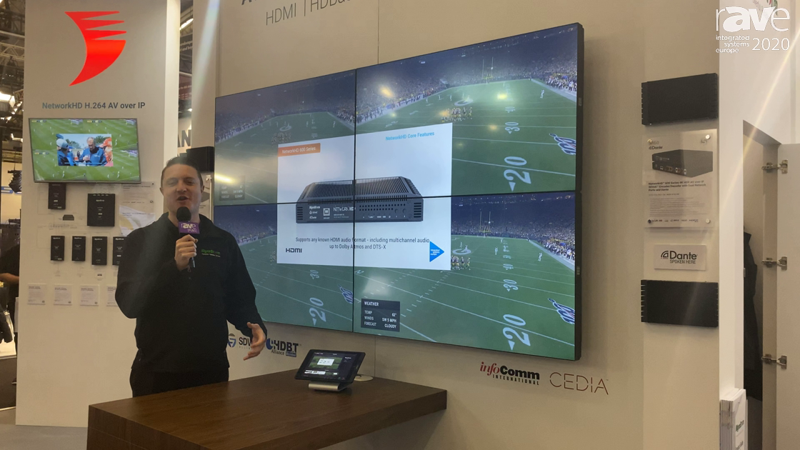 ISE 2020: Wyrestorm Launches NetworkHD 600 Encoder/Decoder With Dante and Fiber Output