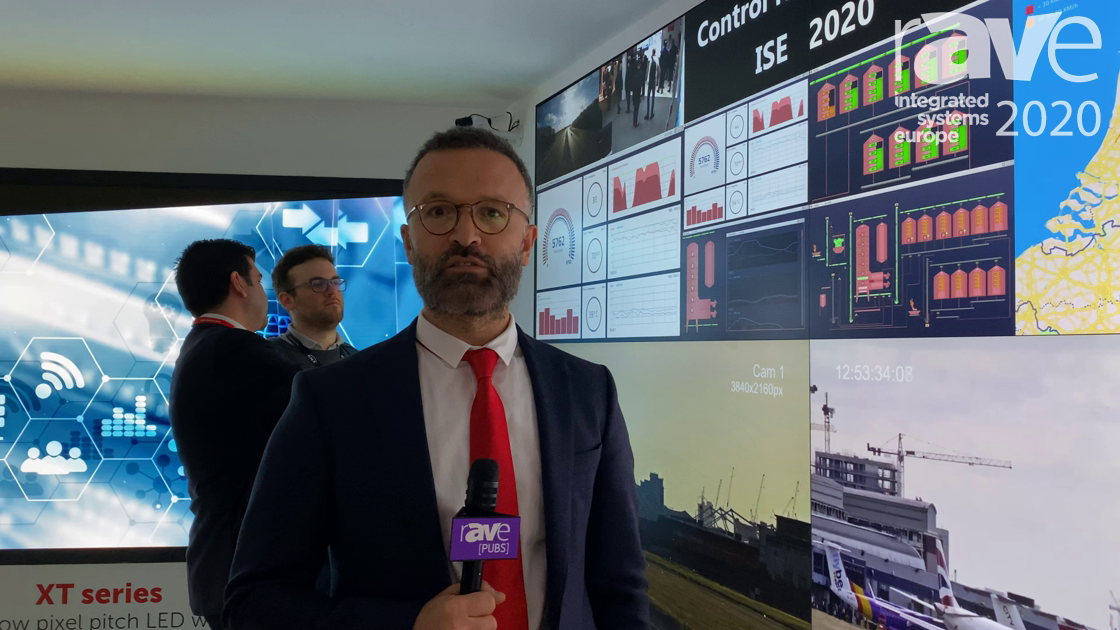 ISE 2020: Barco Shows RGB Laser ODL-721 Rear Projection Cubes for Command and Control Applications