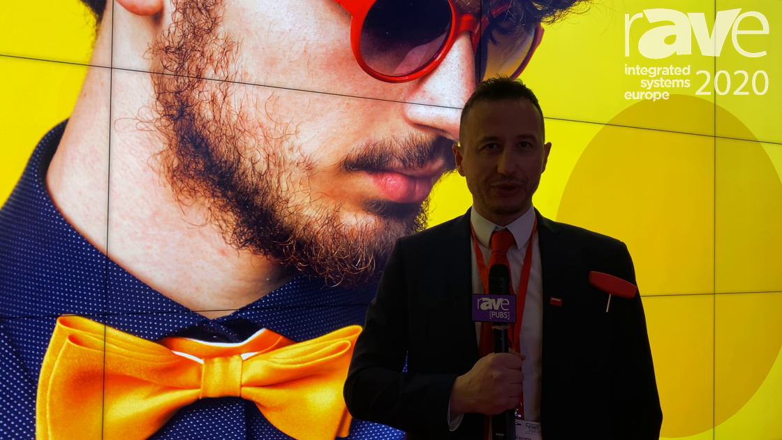 ISE 2020: Barco Talks About UniSee, a Unique LCD Video Wall Solution