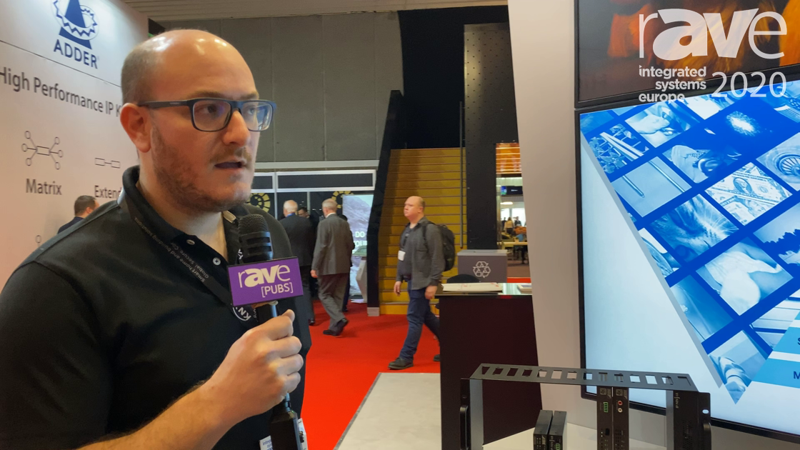 ISE 2020: IDK Corporation Showcases the IP-Ninjar 10G AV-Over-IP Rackmount Version