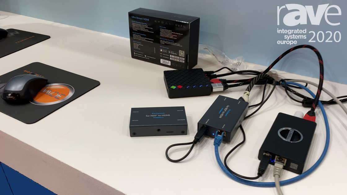 ISE 2020: Magewell Presents Pro Convert for Decoding NDI to HDMI Signals
