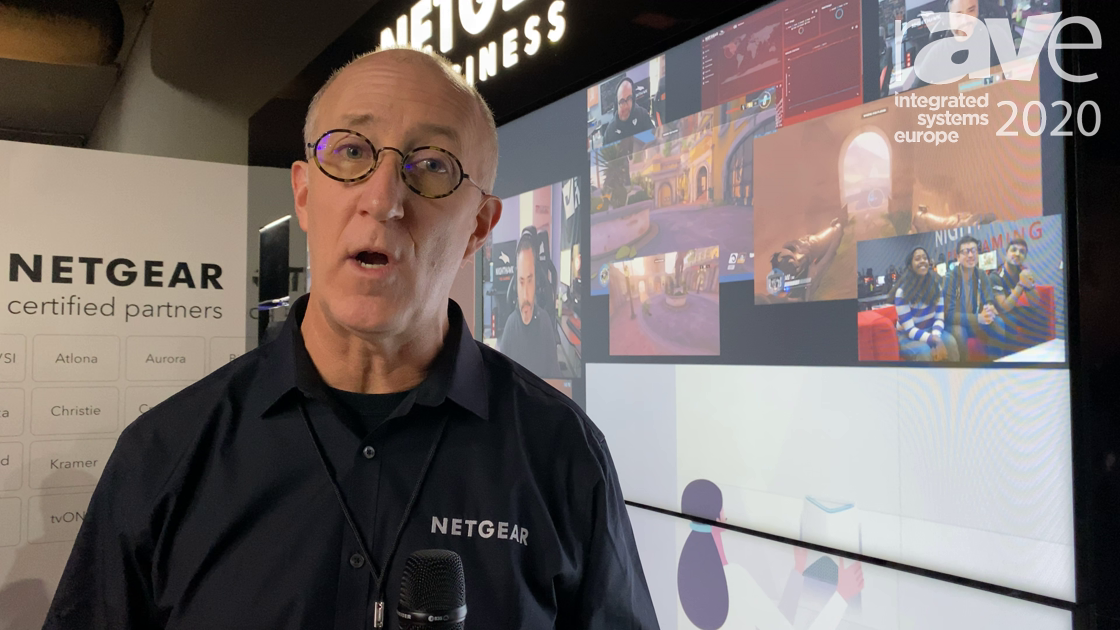 ISE 2020: NETGEAR Shows M4500 Series 100G Network Switch Pre-Configured for AV-Over-IP Applications