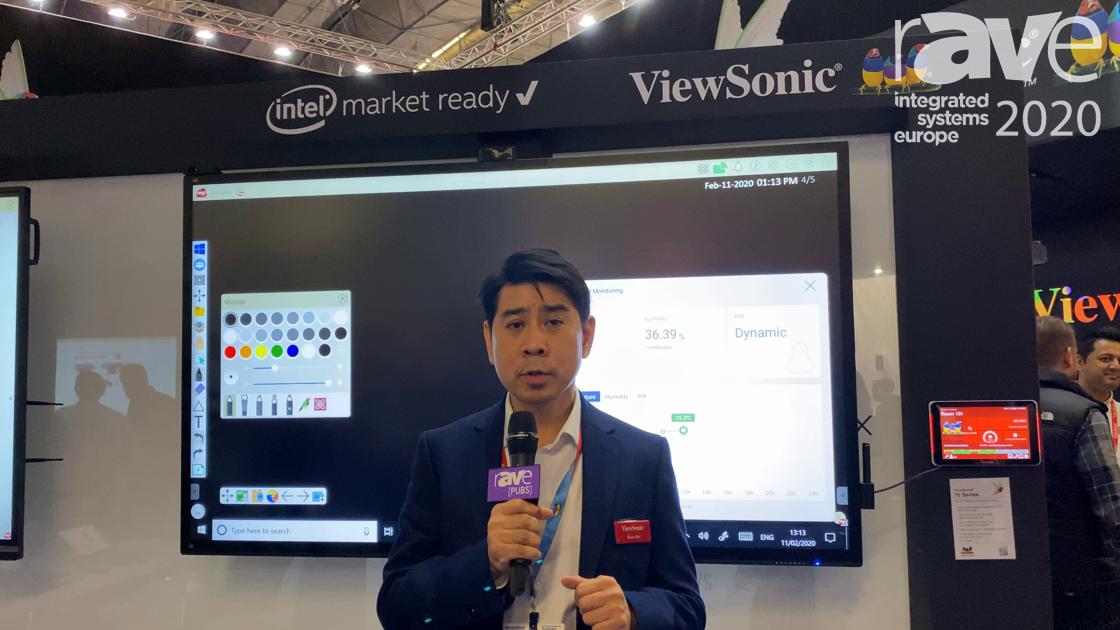ISE 2020: ViewSonic Showcases Flagship ViewBoard IFP70 Series PCAP Interactive Display