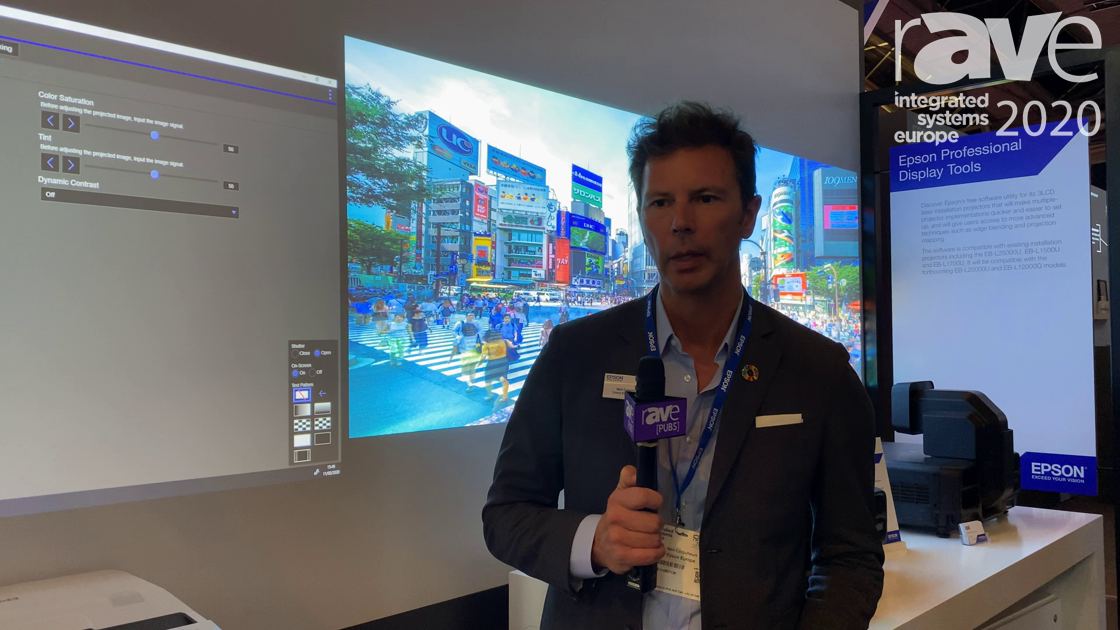 ISE 2020: Epson Showcases Its Professional Display Tools for Edge Blending and Projection Mapping