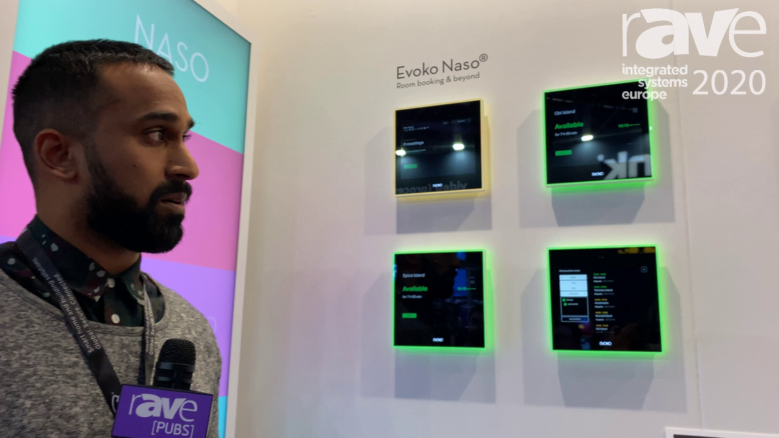 ISE 2020: Evoko Unveils Naso, a Stand-Alone, Dedicated Room Booking System