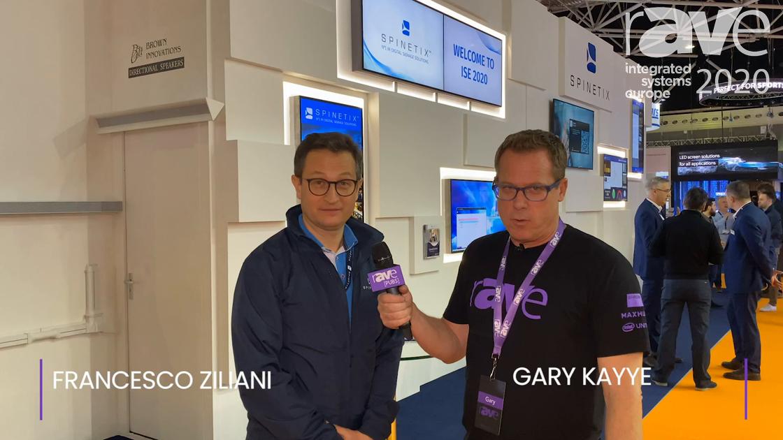 ISE 2020: SpinetiX CEO Francesco Ziliani Explains New 2020 Strategy to Gary Kayye