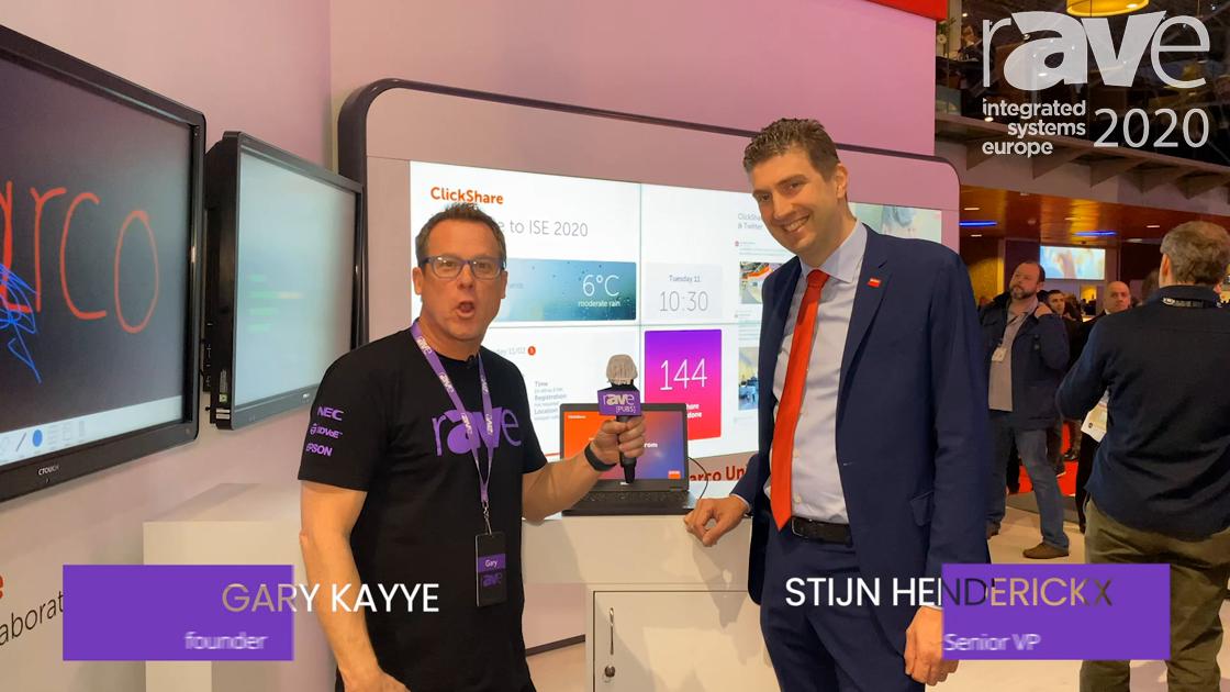 ISE 2020: Barco Senior VP EMEA Stijn Hendrickx Details New Product Strategy for Gary Kayye