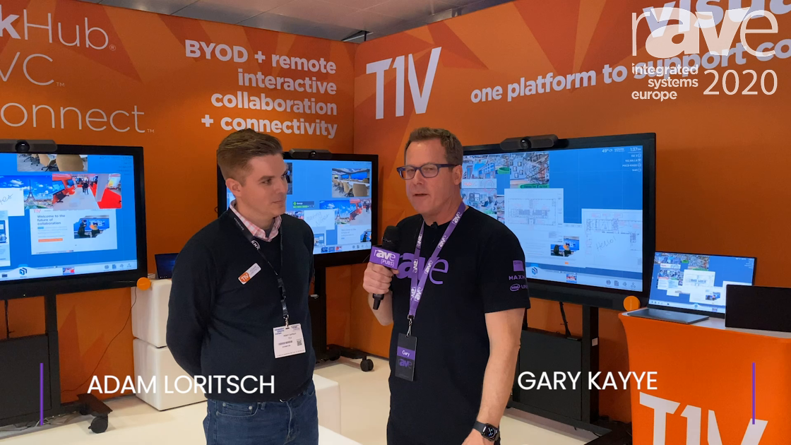 ISE 2020: Adam Loritsch from T1V Details Product Collaboration Strategy with Gary Kayye