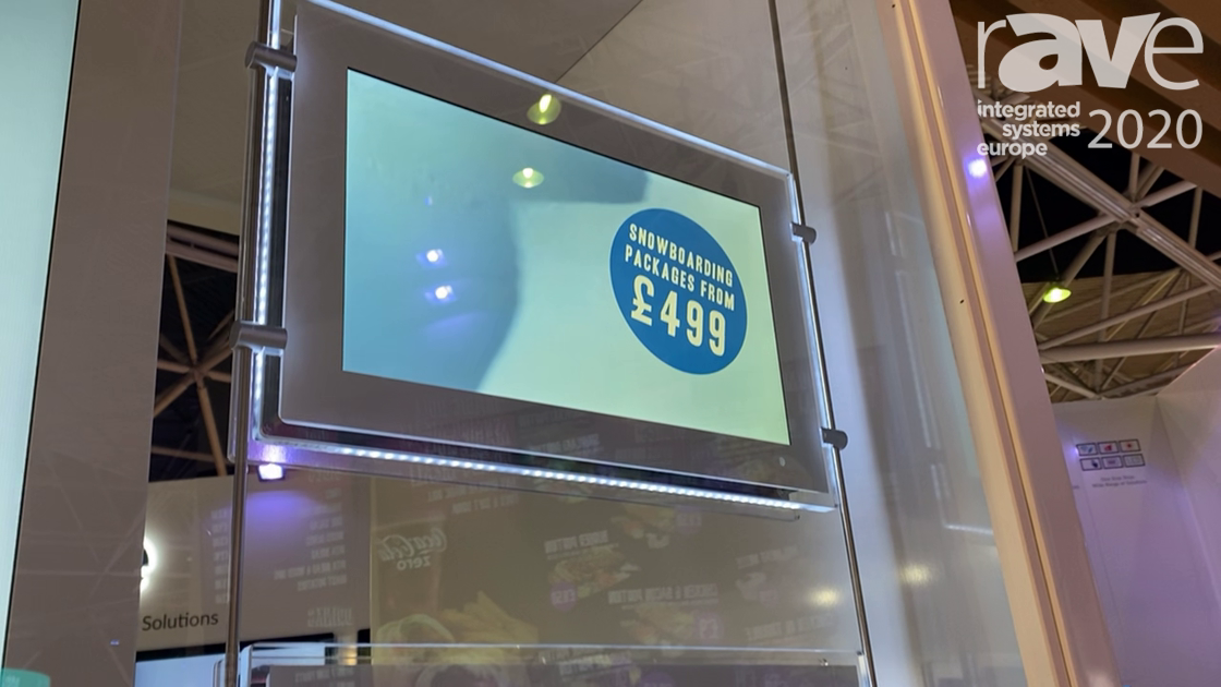 ISE 2020: Allsee Technologies Shows Rod Powered 15-inch Digital Displays