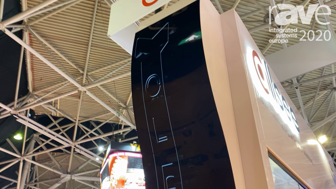 ISE 2020: Allsee Technologies Introduces 55-inch Curved OLED Video Wall Display