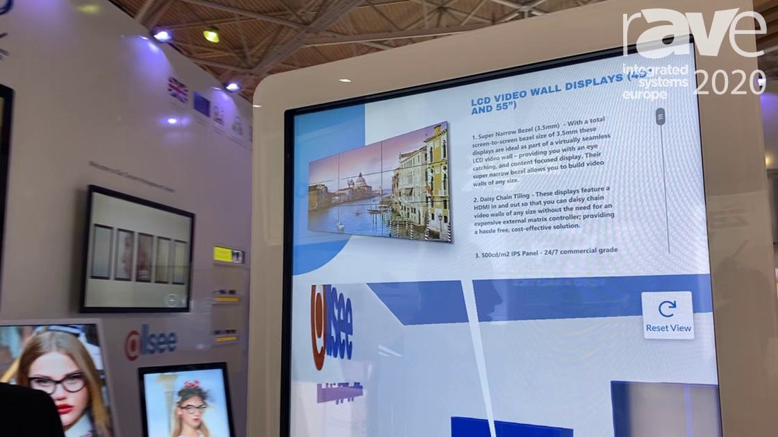 ISE 2020: Allsee Technologies Highlights Infrared Freestanding Digital Touch Screen Posters