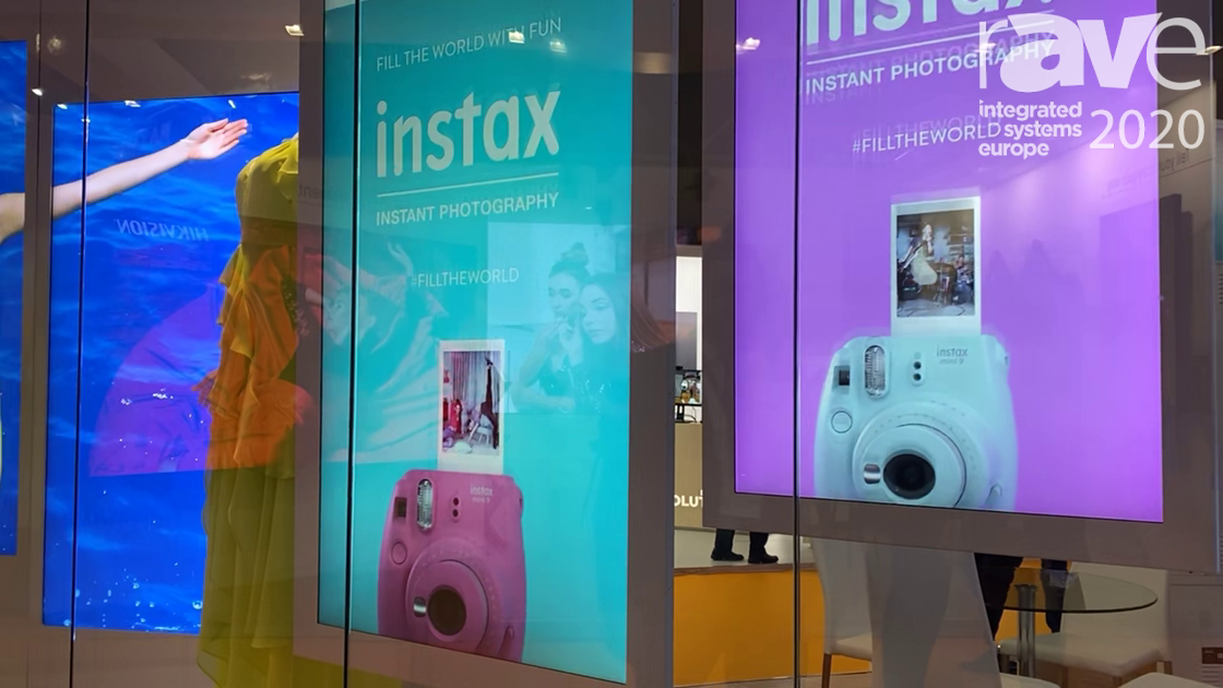 ISE 2020: Allsee Technologies Exhibits Double-Sided Hanging Displays with Integrated Ceiling Mount