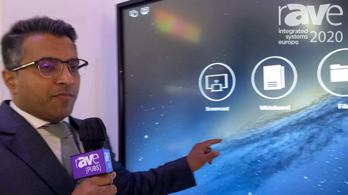 ISE 2020: Allsee Technologies Demos 4K Slim Bezel Interactive Touch Display Panel