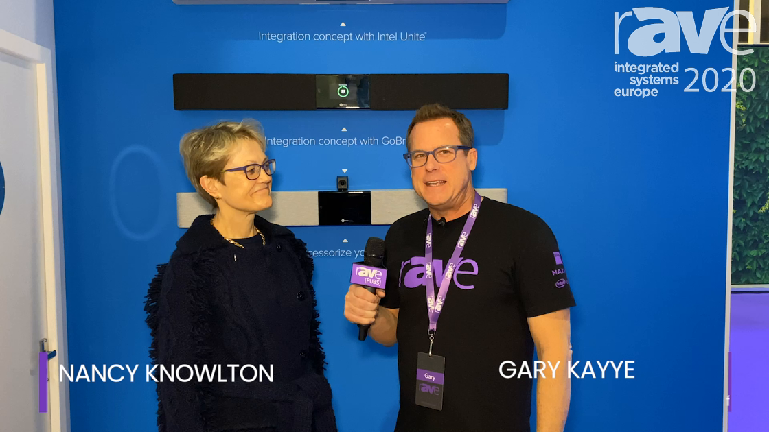 ISE 2020: Gary Kayye Speaks to Nureva Founder and CEO Nancy Knowlton About New Audio Strategy