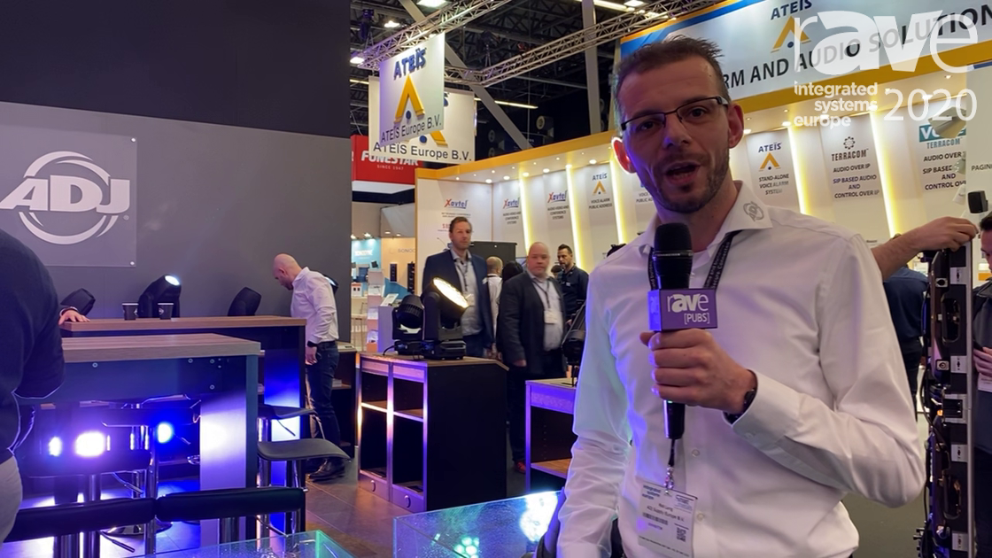 ISE 2020: ADJ Showcases Hydro Wash X19, Newest Addition to Hydro Series of LED Moving Head Fixtures