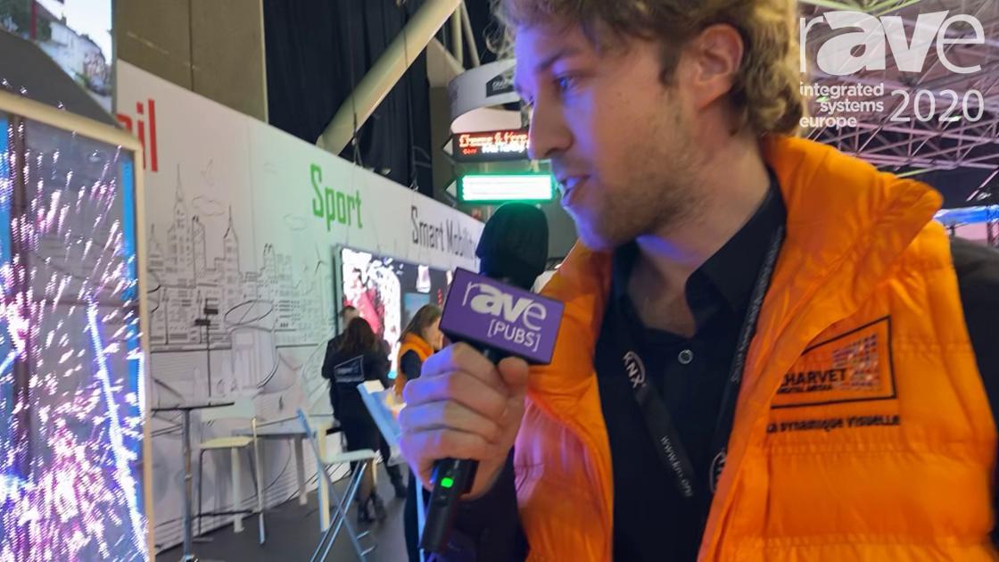 ISE 2020: Charvet Digital Media Showcases Its Transparent LED Screen