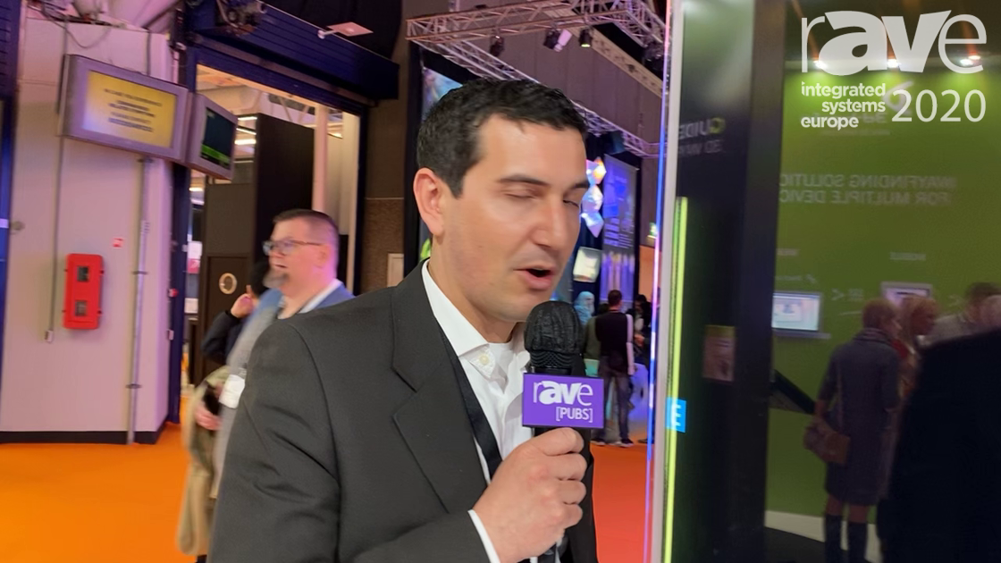 ISE 2020: EDIGMA Introduces 55-inch Indoor OLED Double-sided Kiosk with Interactive Touch Technology