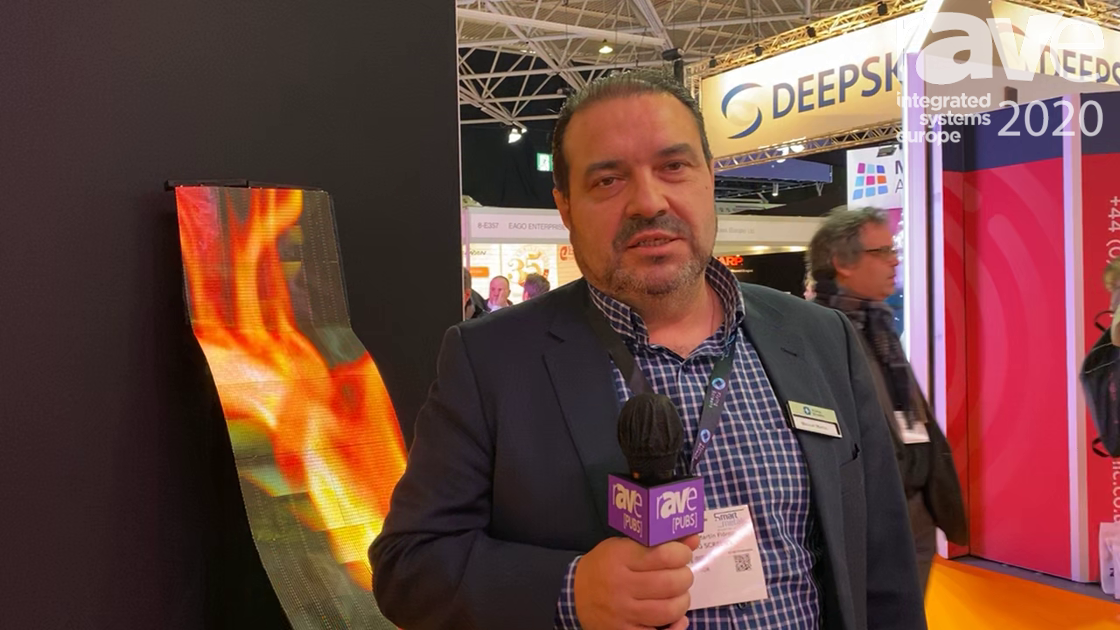 ISE 2020: Flying Screens Highlights Its Thin, Lightweight and Flexible LED Screens with Unique Forms