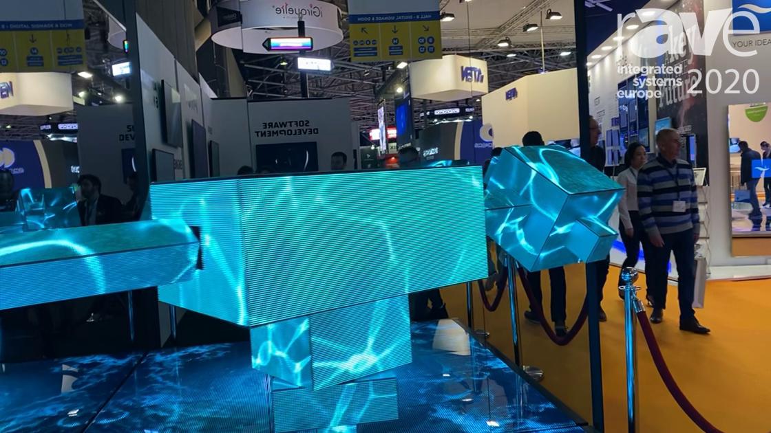 ISE 2020: LedGo Illustrates High-Resolution Mirror Alongside Fun, Custom-Engineered Robot