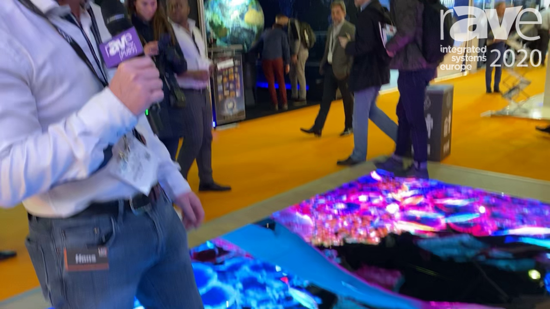ISE 2020: LedGo Highlights Range of Interior Interactive LED Video Floor Panels