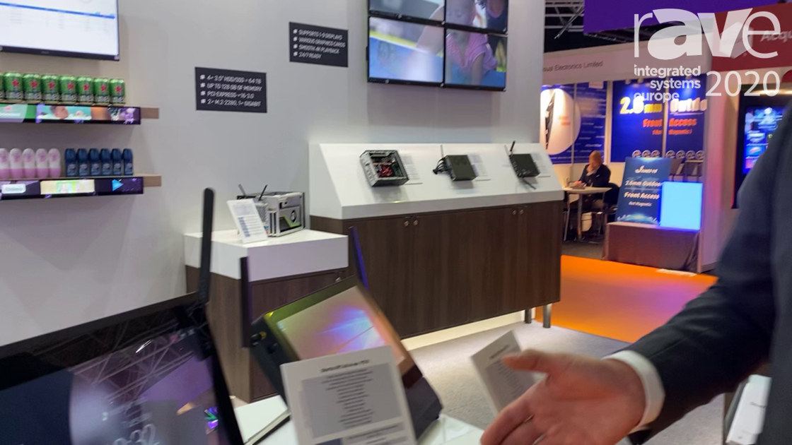 ISE 2020: Shuttle Exhibits All-in-One P51U Panel PC, Multitouch Display for POS, POI and Kiosk