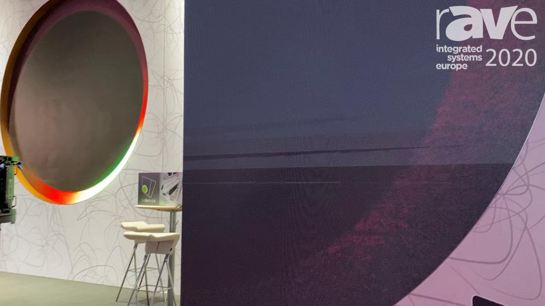 ISE 2020: beMatrix Features Its Stand's Modular LED Solutions, beMatrix Frames and LEDskin