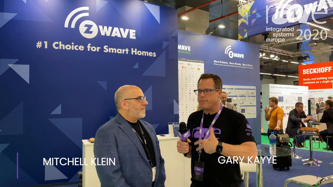 ISE 2020: Mitchell Klein Explains the Z-Wave Wireless Smart Home Strategy