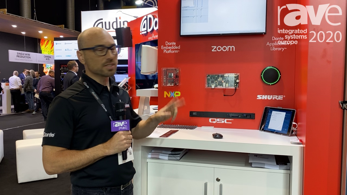 ISE 2020: Audinate Features the Dante Embedded Platform and Dante Application Library