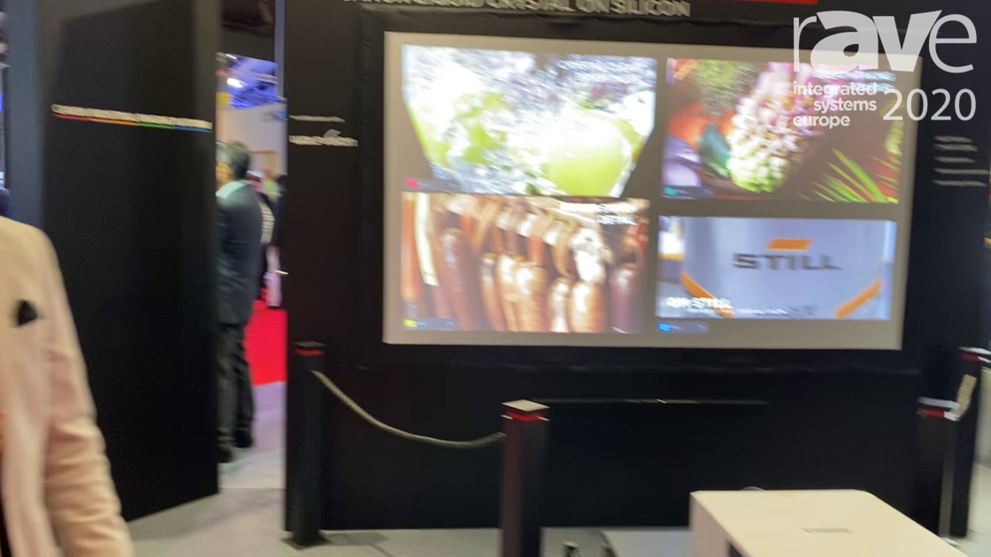ISE 2020: Canon Markets 06 Projector Lens with Marginal Focus Function