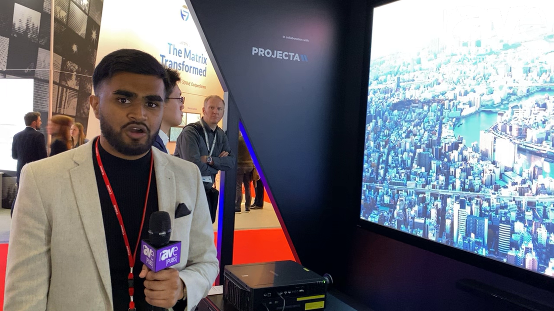ISE 2020: Canon Discusses 8K Projector Experience, Executed In Collaboration with AV Stumpfl