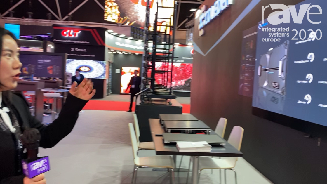ISE 2020: Coleder Talks About Its ACE WALL, LED Video Wall for Conference and Meeting Rooms