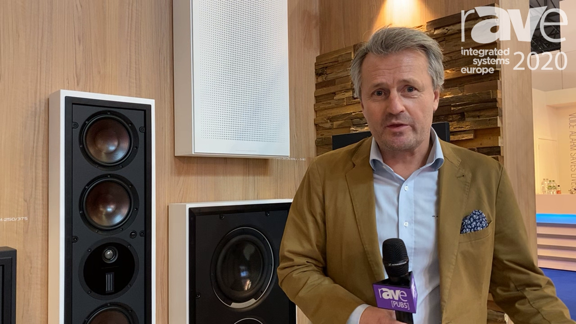 ISE 2020: DALI Exhibits Phantom Series Speakers Mounted In On-Wall Frames