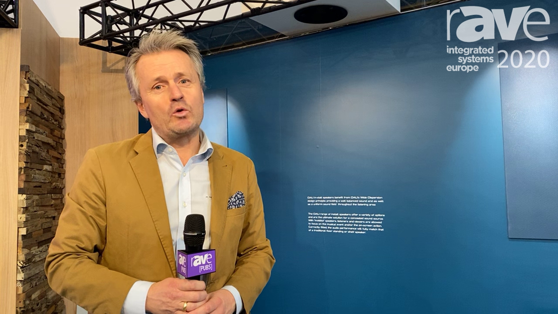 ISE 2020: DALI Talks Rubicon C Series Wireless Speakers