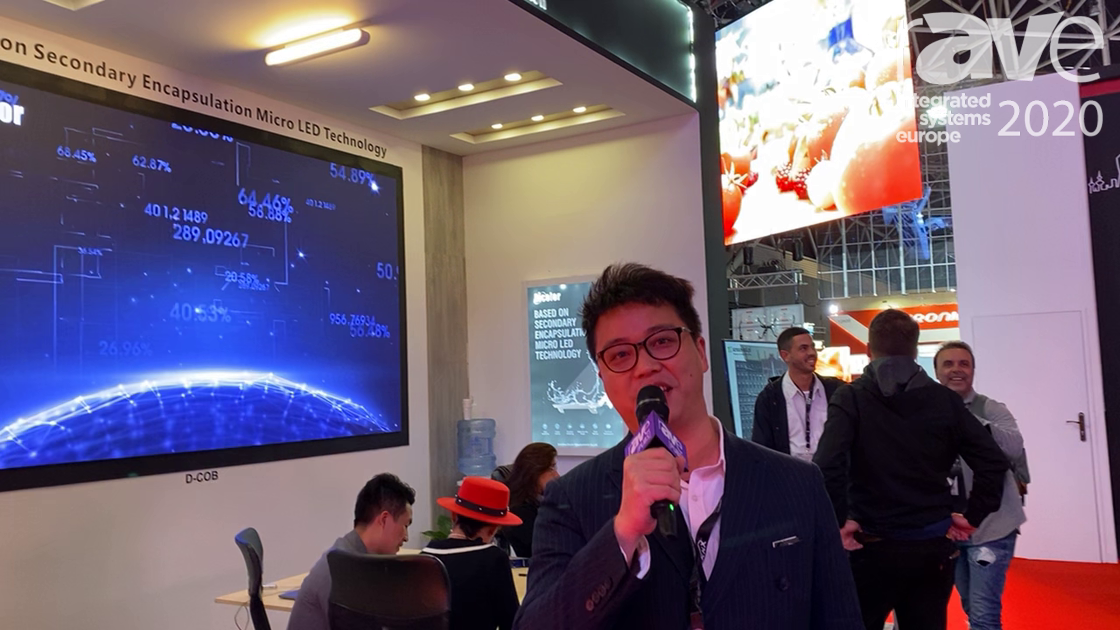 ISE 2020: Dicolor Showcases D-COB Series with Secondary Encapsulation Micro LED Technology