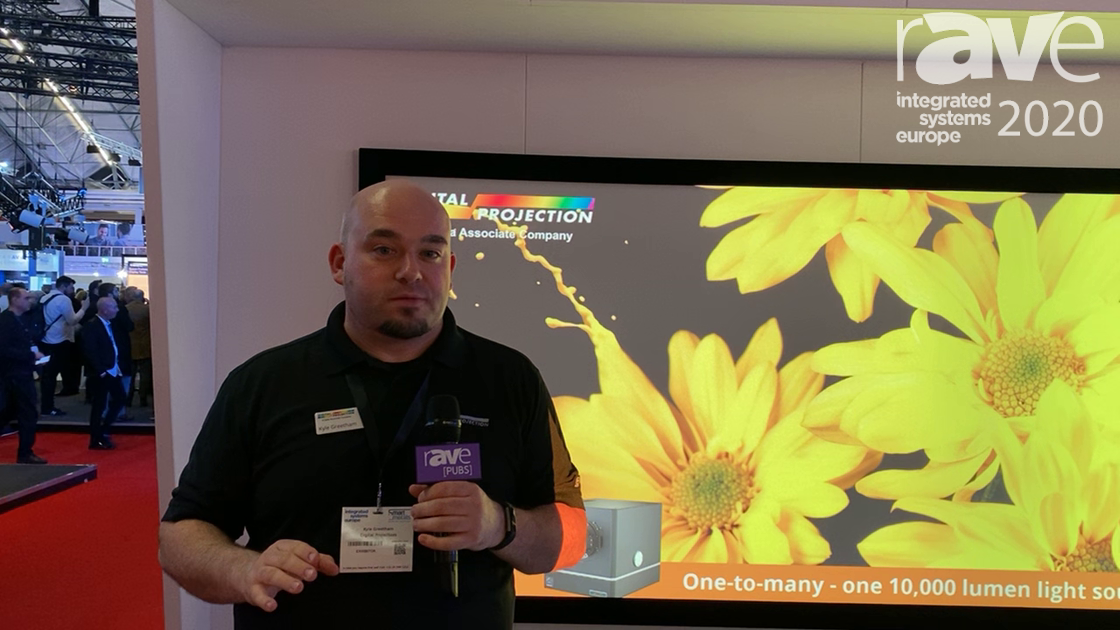 ISE 2020: Digital Projection Expos Satellite MLS, Modular Laser System Projectors