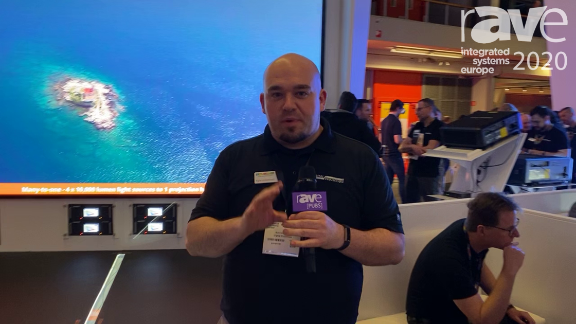 ISE 2020: Digital Projection Talks Satellite MLS, Modular Laser System with Insight Projector Head