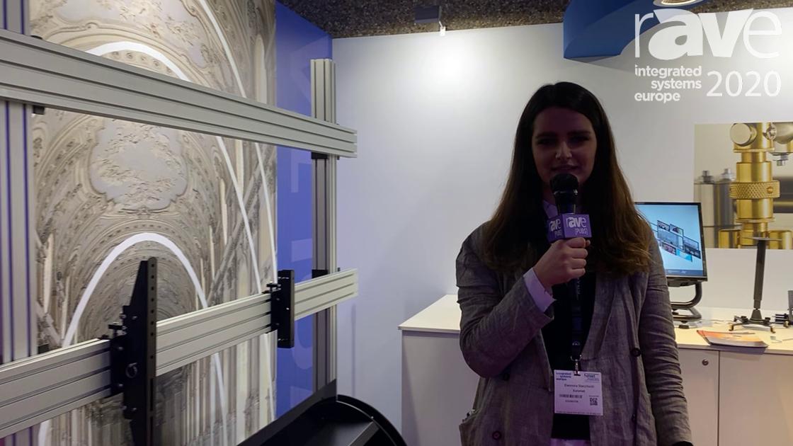ISE 2020: Euromet Presents Volta, Modular Mount for Video Walls