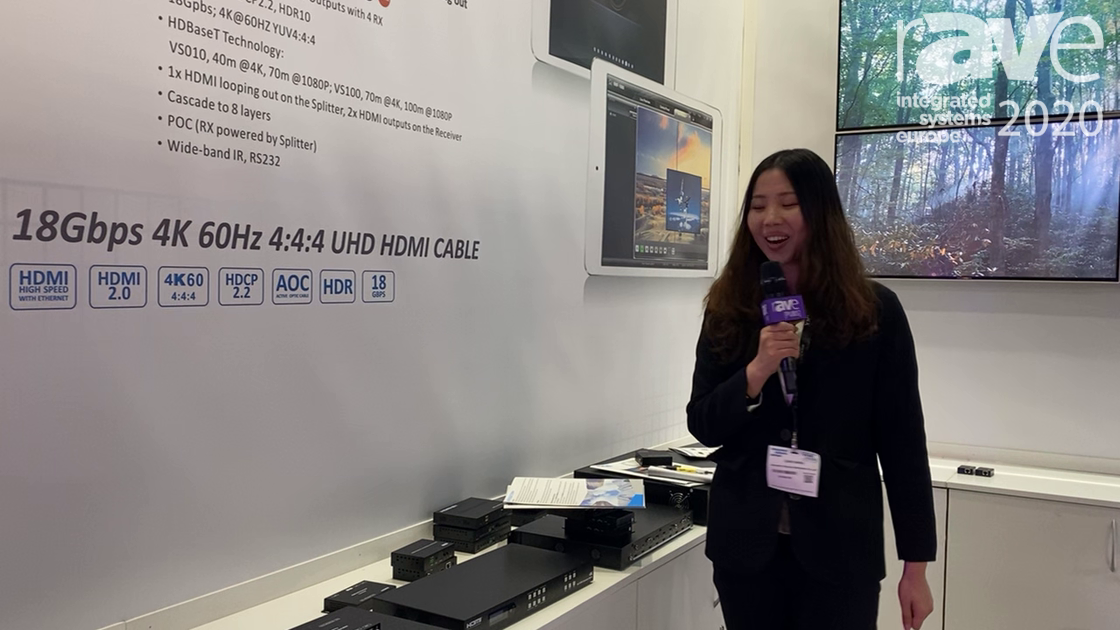 ISE 2020: FoxUn Introduces SX-SMX46, 4×4 4K HDMI Matrix and Video Wall Controller