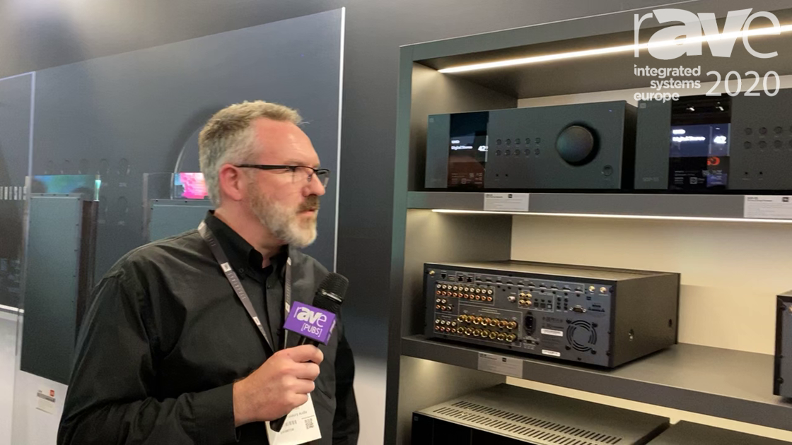 ISE 2020: JBL Synthesis Talks SDR-35 Audio-Video Receiver and SDP-55 Surround Processor