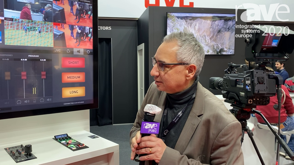 ISE 2020: JVC Demos Connected Cam Studio, Production System for Live Sports