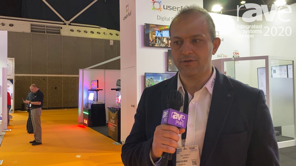 ISE 2020: LEDECA Exhibits LDSOSP03.9ST, LED Screen for Outdoor Digital Signage and OOH