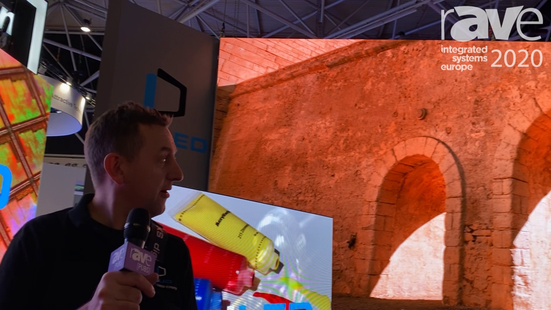 ISE 2020: digiLED Showcases digiTHIN HD Series LED Screens, Custom-Created 6k Content Video Wall