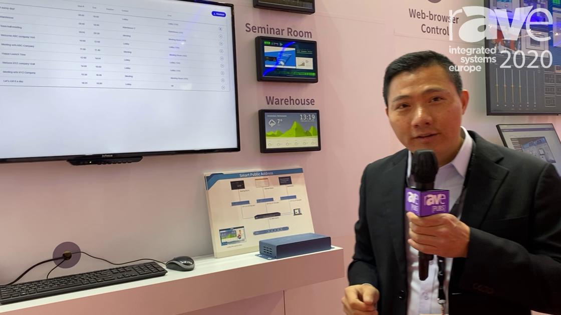 ISE 2020: BXB Electronics Explains Smart Public Address Solution