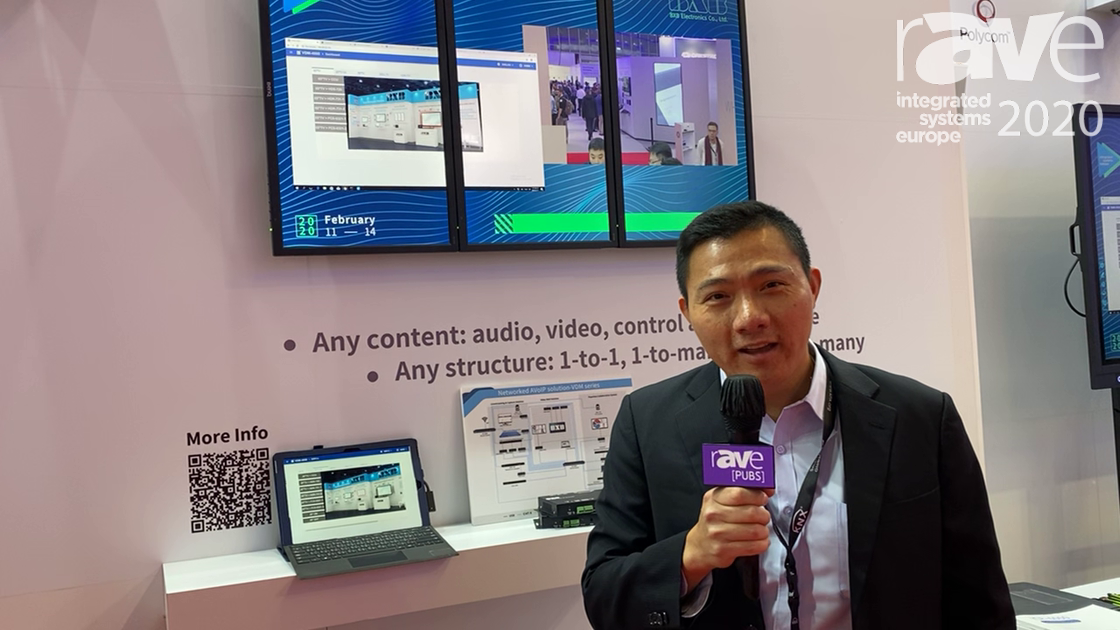 ISE 2020: BXB Electronics Features 4K HDMI Over IP Extender