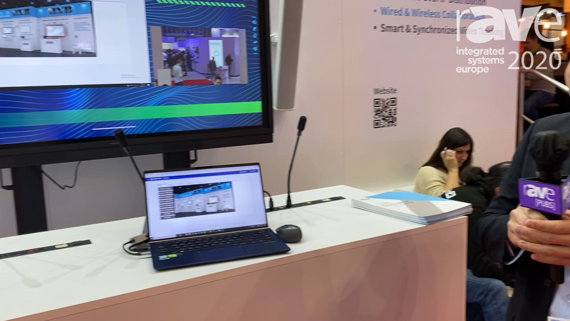ISE 2020: BXB Electronics Highlights All-in-One Paperless Meeting Room Collaboration Panel